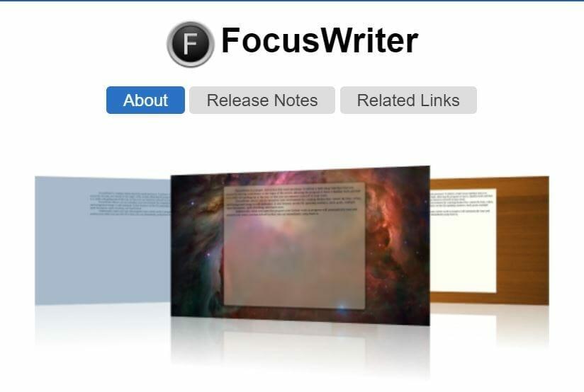 focuswriter-getting-things-done-tool