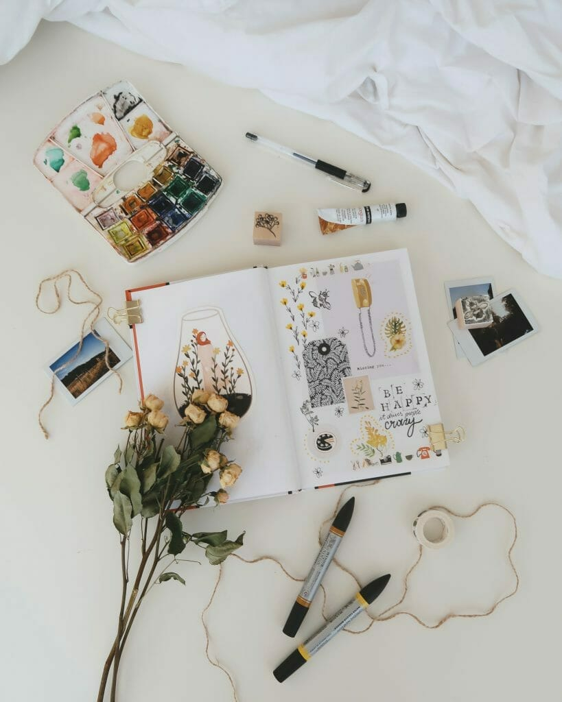 make-scrapbook-to-be-productive-at-home